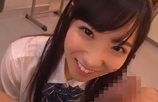 【JKフェラ】女子校生のわがままご奉仕フェラチオ 目を合わせて舐められる快感と口内射精 栄川乃亜
