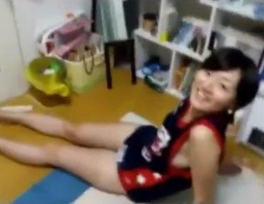 【素人個人撮影】部活少女が彼氏の部屋でいつもの気だるいエッチのハメ撮り